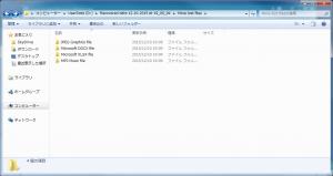 保存先フォルダ:More lost files(複数)